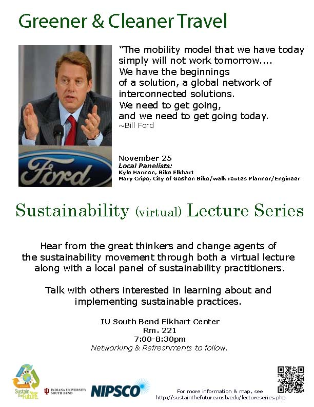 Elkhart Lecture nite flyer